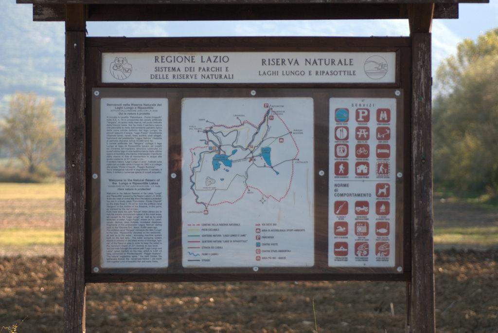 La riserva naturale dei laghi Lungo e Ripasottile